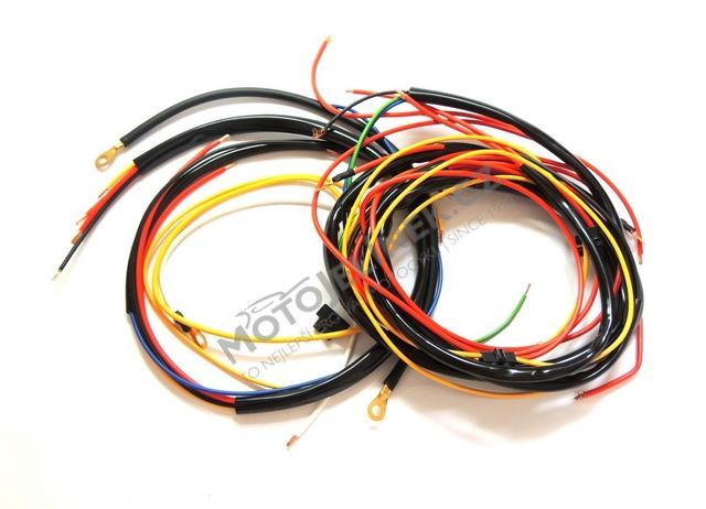 Elektroinstalace Spinacka V Masce Jawa Cz 250 Kyvacka
