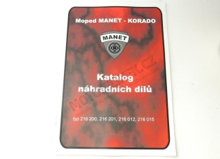 Katalog ND -Moped MANET-KORADO