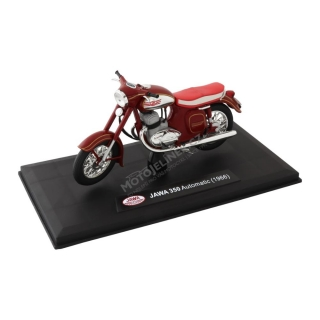 Model JAWA 350 Automatic (1966) 1:18, ČERVENÁ