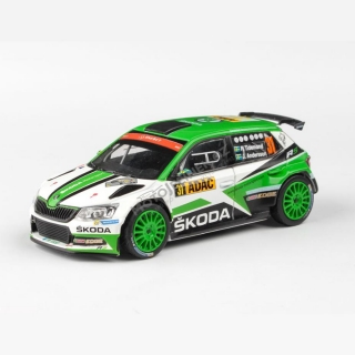 Model Škoda Fabia R5 (1:43), Pontus TIDEMAND #31 Rally Deutschland 2017