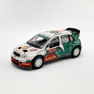 Model Škoda Fabia WRC (1:43), Mikko Hirvonen #12 Rally JAPAN 2005